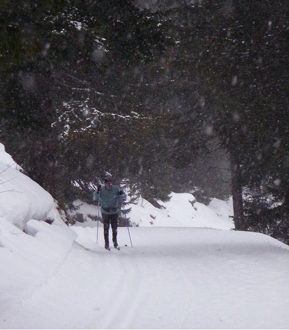 ski de fond - avoriaz