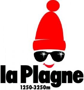 La plagne - logo