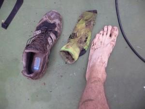trail de la vallée de chevreuse - une douche s'impose
