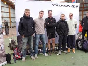 trail de la vallée de chevreuse - la team Montroc