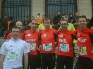 La SFR Dream (running) Team