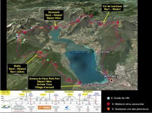 vue-generale - maxi race du lac d'annecy