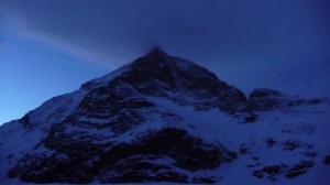 Matterhorn sous les nuages