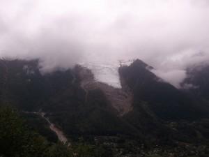 UTMB 2012 - le glacier des bossons