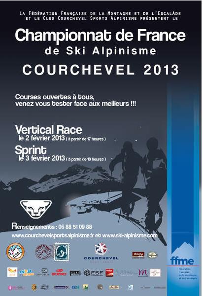 affiche - championnat de France Verticale Race 2013